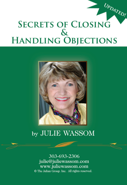 Secrets of Closing and Handling Objections FINAL cropped